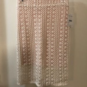 Free People Fitted Crochet Skirt. Size: 4